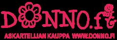 Donno.fi käänteinen pinkki kompakti